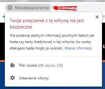 Niebezpieczny protokoł HTTP